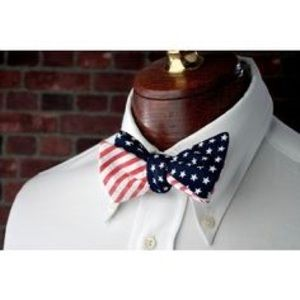 Other - High Cotton reversible American Flag bow tie